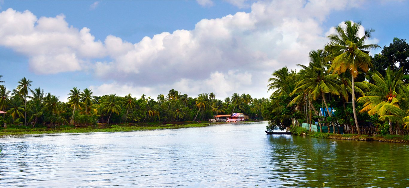 Backwaters, South India