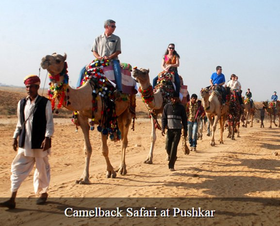 Pushkar Camel Fair ground