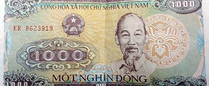 Money in vietnam