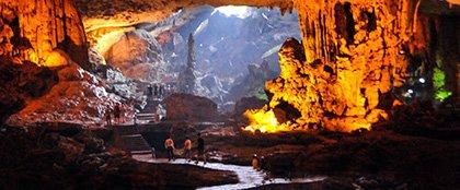 Surprise Cave in vietnam